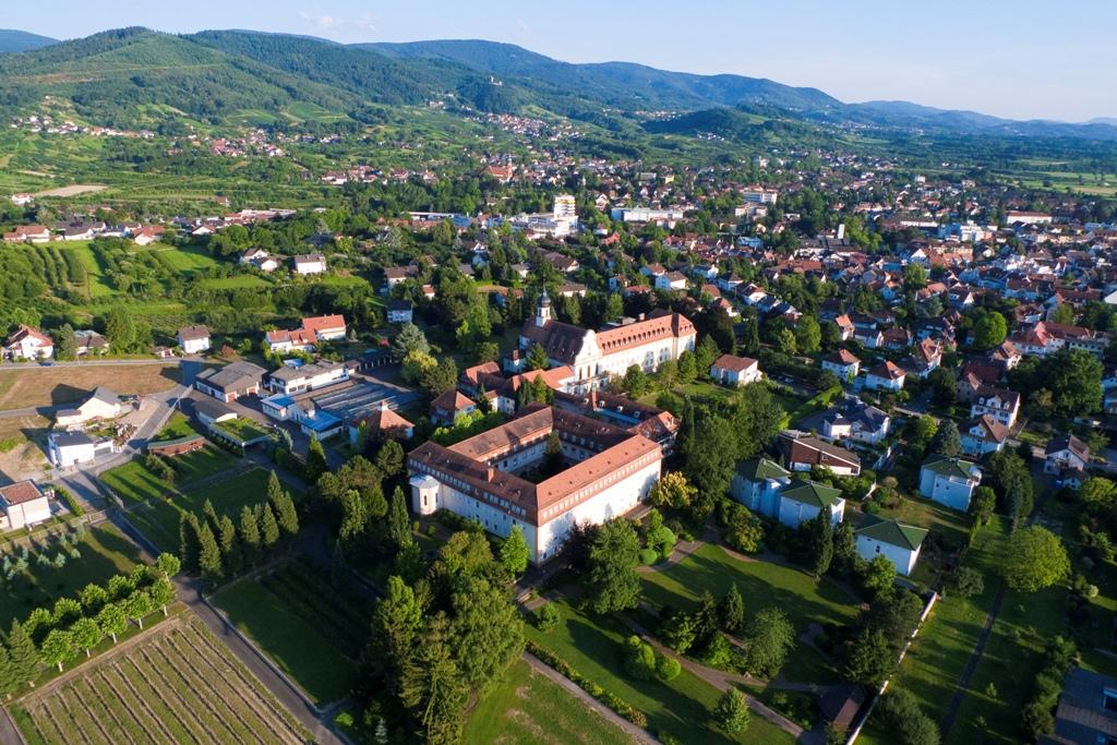 Wandern und Kloster