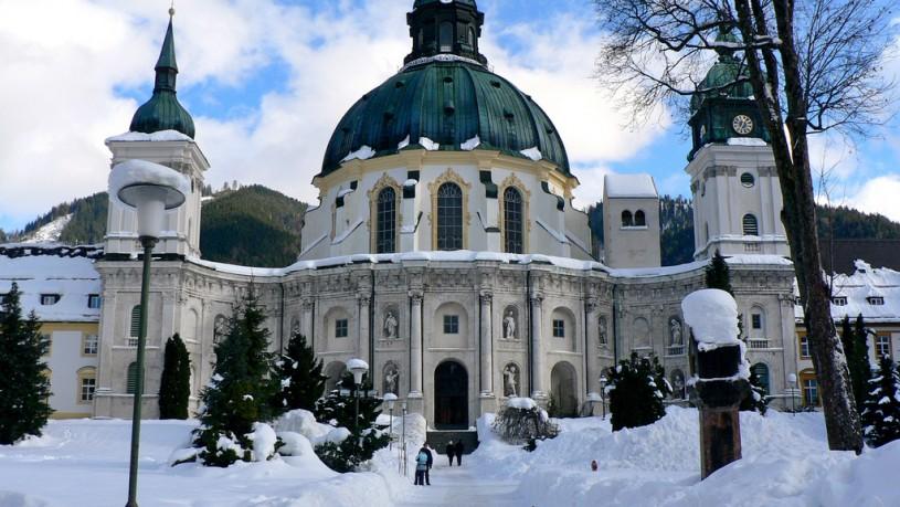 Kloster Ettal - Bild von Heribert Pohl (flickr)