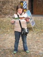 Die Touristin Aline Sommer