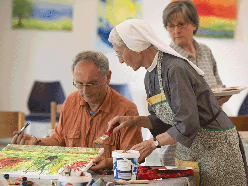 Fastenurlaub und Kunstpause im Kloster Hegne