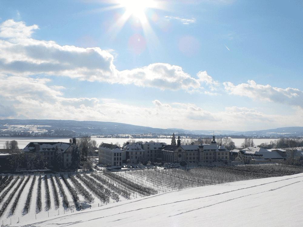 Winterurlaub im Kloster Hegne: Auftanken und Durchatmen