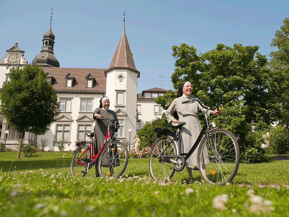 Radwandern rund ums Kloster Hegne
