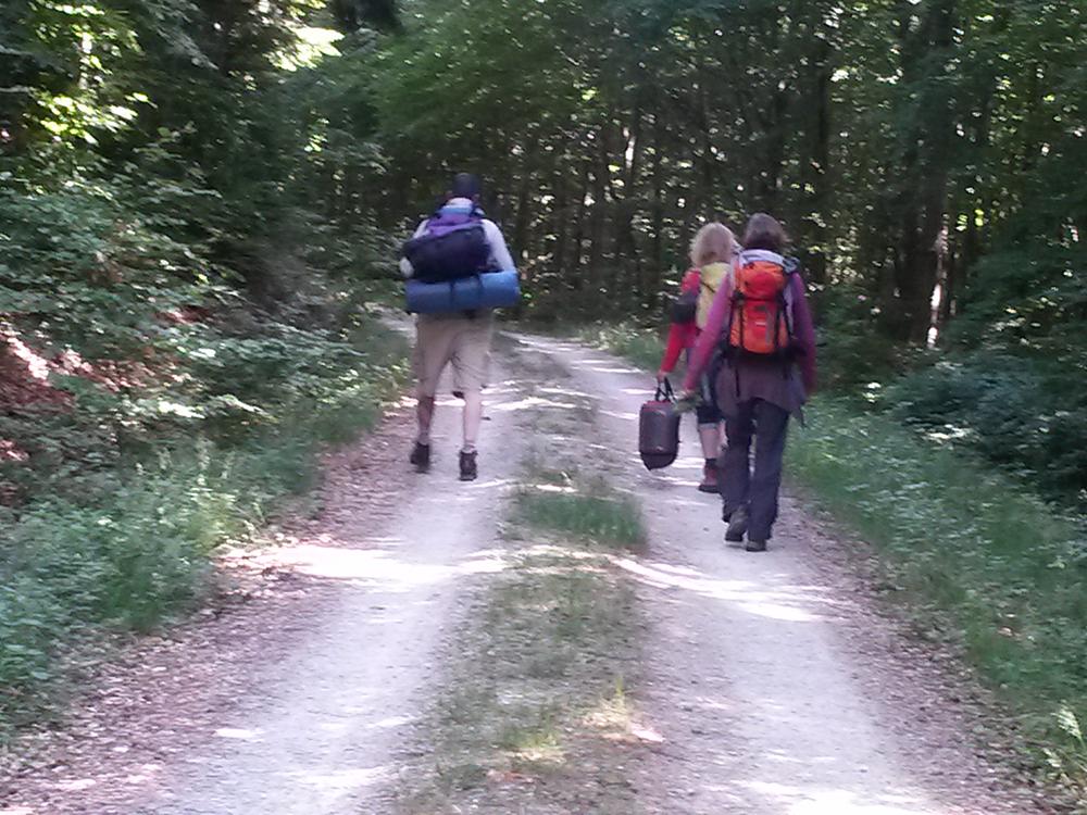 Teilnehmer Naturcamp