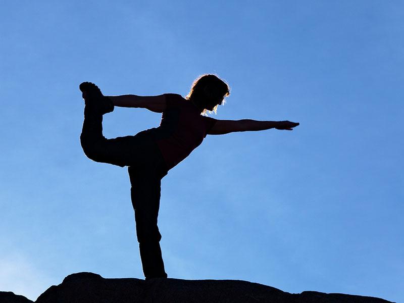 Yogawochenende im Kloster